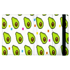 Avocado Seeds Green Fruit Plaid Apple Ipad Pro 12 9   Flip Case by Mariart