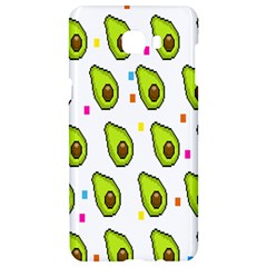 Avocado Seeds Green Fruit Plaid Samsung C9 Pro Hardshell Case  by Mariart