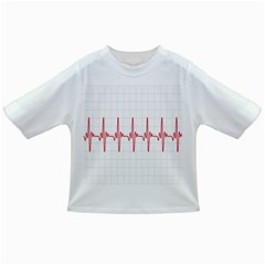 Cardiogram Vary Heart Rate Perform Line Red Plaid Wave Waves Chevron Infant/toddler T Shirts