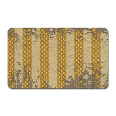 Wall Paper Old Line Vertical Magnet (rectangular) by Mariart