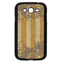 Wall Paper Old Line Vertical Samsung Galaxy Grand Duos I9082 Case (black) by Mariart