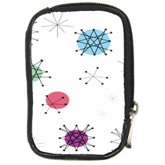 Atomic Starbursts Circle Line Polka Compact Camera Cases by Mariart