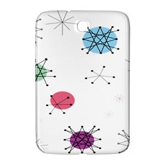 Atomic Starbursts Circle Line Polka Samsung Galaxy Note 8 0 N5100 Hardshell Case  by Mariart