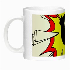 Book Explosion Boom Dinamite Night Luminous Mugs by Mariart