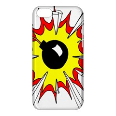Book Explosion Boom Dinamite Apple Iphone 5c Hardshell Case by Mariart