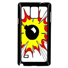 Book Explosion Boom Dinamite Samsung Galaxy Note 4 Case (black) by Mariart