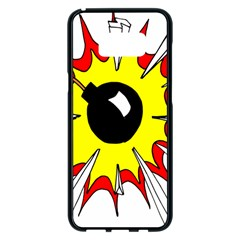 Book Explosion Boom Dinamite Samsung Galaxy S8 Plus Black Seamless Case