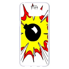 Book Explosion Boom Dinamite Samsung Galaxy S8 Plus White Seamless Case
