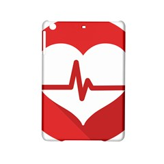 Cardiologist Hypertension Rheumatology Specialists Heart Rate Red Love Ipad Mini 2 Hardshell Cases by Mariart