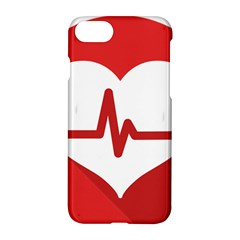 Cardiologist Hypertension Rheumatology Specialists Heart Rate Red Love Apple Iphone 7 Hardshell Case
