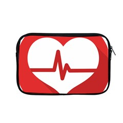 Cardiologist Hypertension Rheumatology Specialists Heart Rate Red Love Apple Macbook Pro 13  Zipper Case