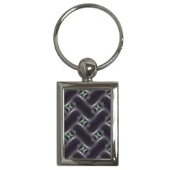 Closeup Purple Line Key Chains (rectangle)  by Mariart