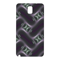 Closeup Purple Line Samsung Galaxy Note 3 N9005 Hardshell Back Case by Mariart