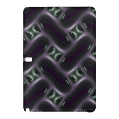 Closeup Purple Line Samsung Galaxy Tab Pro 10 1 Hardshell Case by Mariart