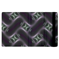 Closeup Purple Line Apple Ipad Pro 12 9   Flip Case