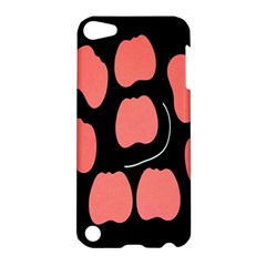 Craft Pink Black Polka Spot Apple Ipod Touch 5 Hardshell Case by Mariart