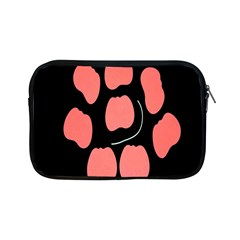 Craft Pink Black Polka Spot Apple Ipad Mini Zipper Cases by Mariart