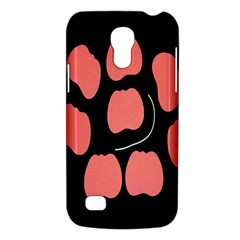 Craft Pink Black Polka Spot Galaxy S4 Mini by Mariart
