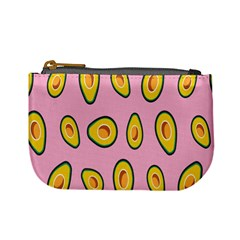 Fruit Avocado Green Pink Yellow Mini Coin Purses by Mariart