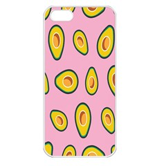 Fruit Avocado Green Pink Yellow Apple Iphone 5 Seamless Case (white) by Mariart