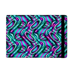 Circle Purple Green Wave Chevron Waves Ipad Mini 2 Flip Cases by Mariart