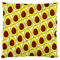 Avocados Seeds Yellow Brown Greeen Large Cushion Case (two Sides) by Mariart