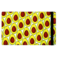 Avocados Seeds Yellow Brown Greeen Apple Ipad 2 Flip Case by Mariart