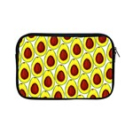 Avocados Seeds Yellow Brown Greeen Apple iPad Mini Zipper Cases Front