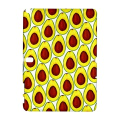 Avocados Seeds Yellow Brown Greeen Galaxy Note 1 by Mariart