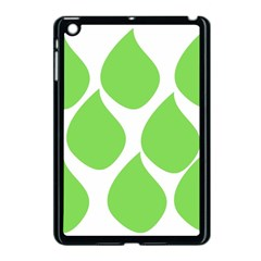 Green Water Rain Apple Ipad Mini Case (black) by Mariart