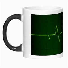Heart Rate Green Line Light Healty Morph Mugs by Mariart