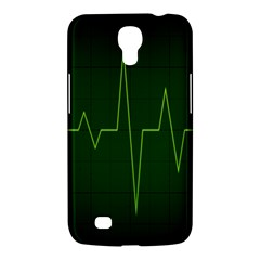 Heart Rate Green Line Light Healty Samsung Galaxy Mega 6 3  I9200 Hardshell Case by Mariart