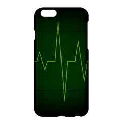 Heart Rate Green Line Light Healty Apple Iphone 6 Plus/6s Plus Hardshell Case by Mariart