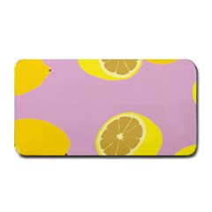 Fruit Lemons Orange Purple Medium Bar Mats by Mariart