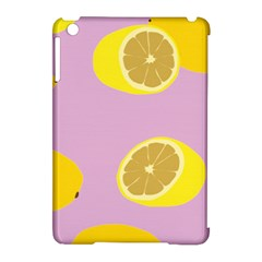 Fruit Lemons Orange Purple Apple Ipad Mini Hardshell Case (compatible With Smart Cover) by Mariart