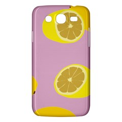Fruit Lemons Orange Purple Samsung Galaxy Mega 5 8 I9152 Hardshell Case  by Mariart