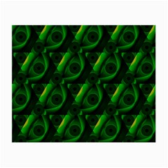 Green Eye Line Triangle Poljka Small Glasses Cloth by Mariart