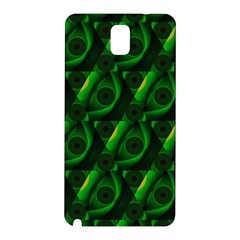 Green Eye Line Triangle Poljka Samsung Galaxy Note 3 N9005 Hardshell Back Case