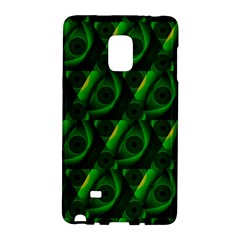 Green Eye Line Triangle Poljka Galaxy Note Edge by Mariart