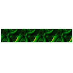 Green Eye Line Triangle Poljka Flano Scarf (large) by Mariart
