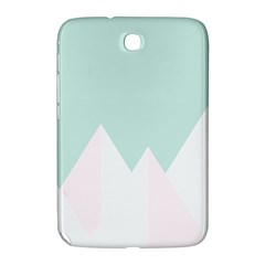 Montain Blue Snow Chevron Wave Pink Samsung Galaxy Note 8 0 N5100 Hardshell Case  by Mariart