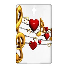 Music Notes Heart Beat Samsung Galaxy Tab S (8 4 ) Hardshell Case  by Mariart