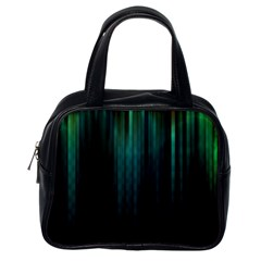 Lines Light Shadow Vertical Aurora Classic Handbags (one Side) by Mariart