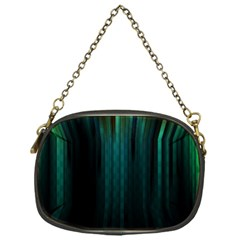 Lines Light Shadow Vertical Aurora Chain Purses (one Side)  by Mariart