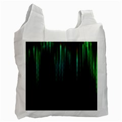 Lines Light Shadow Vertical Aurora Recycle Bag (one Side) by Mariart