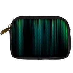 Lines Light Shadow Vertical Aurora Digital Camera Cases