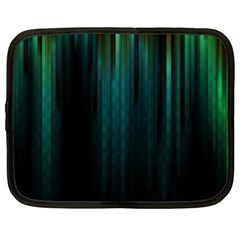 Lines Light Shadow Vertical Aurora Netbook Case (xl)  by Mariart