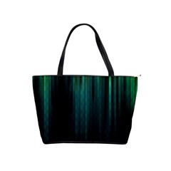 Lines Light Shadow Vertical Aurora Shoulder Handbags by Mariart