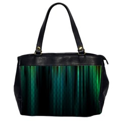 Lines Light Shadow Vertical Aurora Office Handbags (2 Sides)  by Mariart