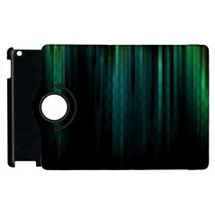 Lines Light Shadow Vertical Aurora Apple Ipad 2 Flip 360 Case by Mariart